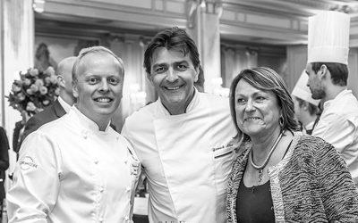 David Bizet, Yannick Allèno et Sonia Dupuis