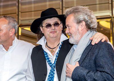 Christian Le Squer, Marc Veyrat et Alain Passard