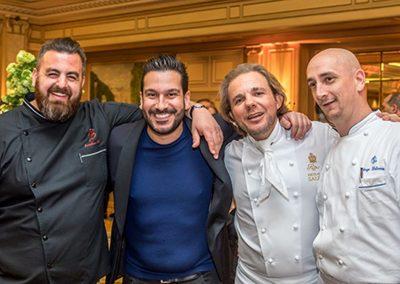 Jonathan Blot, Denny Imbroisi, Nicolas Sale, et Ange Lelièvre