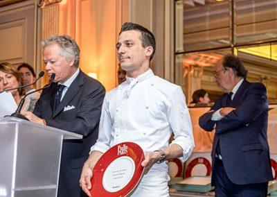 Laurent Magnin, jeune chef de l'année l'Arkane