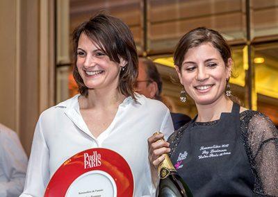 Sommelière de l'année Caroline Fustoss(Le grand Restaurant)Paz Levinson (virtus)
