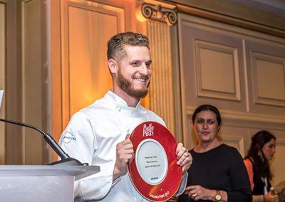 Yann Couvreur, pâtissier de l'année