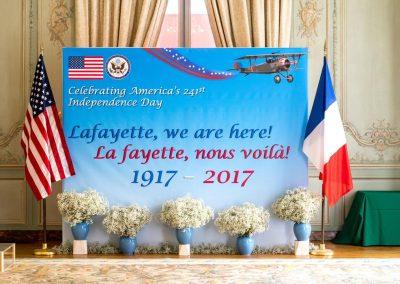 Lafayette, nous voilà !