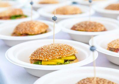 Burger Saumon d'Alaska, Chef Remi Poulain