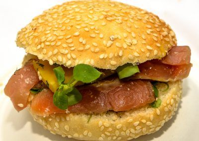 Burger Saumon d'Alaska