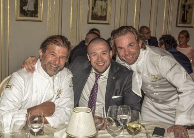 Jean Pierre Biffi, Guillaume Gomez et Nicolas Sale