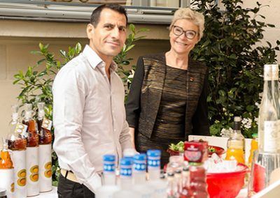 Pierre Boueri et Manou Massenez