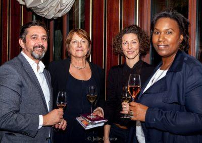 Benoit Castel, Sonia Dupuis, Stephanie et Béatrice Fabignon