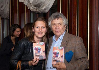 Anne Luzin, le chef et Albert Nahmias