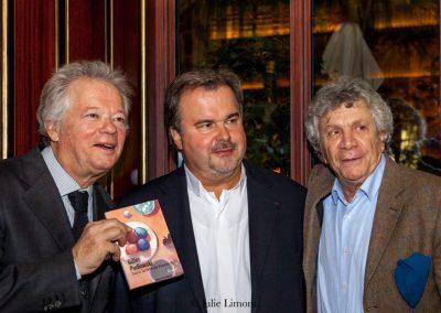 Gilles Pudlowski, Pierre Hermé et Albert Nahmias