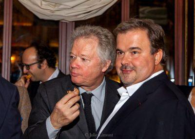 Gilles Pudlowski et Pierre Hermé