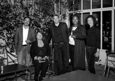 Benoit Castel, Sonia Dupuis, Jonathan Buirette, Béatrice Fabignon et Stephanie