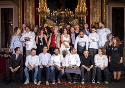 Quelques lauréats et promus certains partenaires et l'équipe Cook and Com