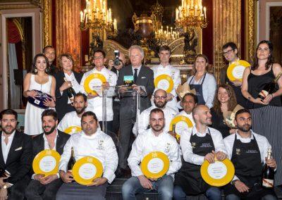Gilles Pudlowski, tous les lauréats et l'équipe Cook and Com