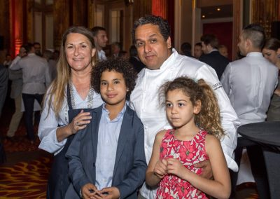 La famille Labiadh - Nordine et Virginie Labiadh - Meilleur accueil de l'année