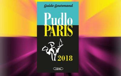 Palmarès de l'année du Guide Gourmand PUDLO PARIS 2018