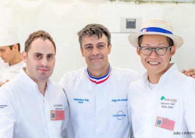 Michele Fortunato, Filipe Da Assunçao, Hideki Endo, Le Royal Monceau