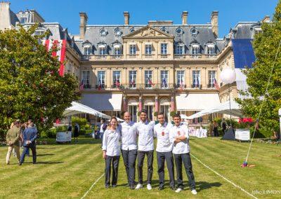 L'équipe du Baudelaire, Le Burgundy - Paris