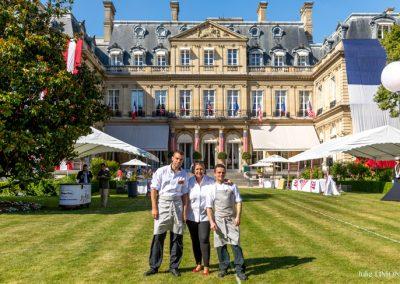 Stéphanie Le Quellec et son équipe, La Scène, Le Prince de Galles - Paris