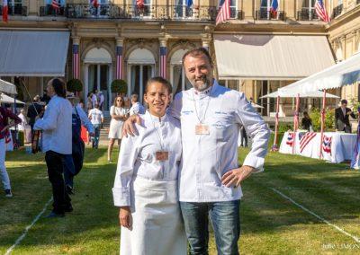 Marina Jacquet et Frédéric Duca