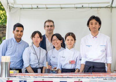 Yoshihiro Suzuki et son équipe, Kura - Paris-