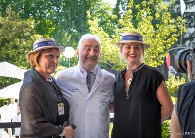 Sonia Dupuis, Guy Savoy, Rebecca Escalant