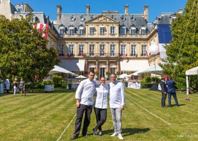 Jérôme Banctel et l'équipe du Gabriel, La Réserve - Paris