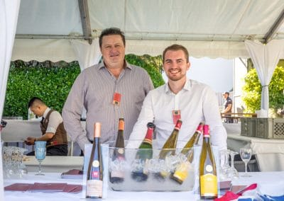 Pascal Di Stefano et Christophe Safta, Domaine Wolfberger