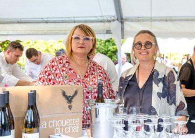 Sylvie Guiraudon et Christèle Marnas, Domaine de la Chouette du Chai