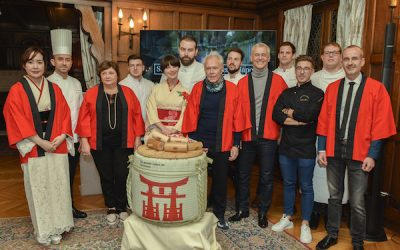 Retour en images sur la soirée Pistes des senteurs Japon à l'Hôtel Raphaël