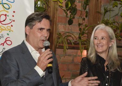 Jacques Ravenne et Tatiana de Rosnay