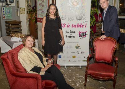 Sonia Dupuis, Nadia Khenchaf et Clément Sénéchal, Cook and Com