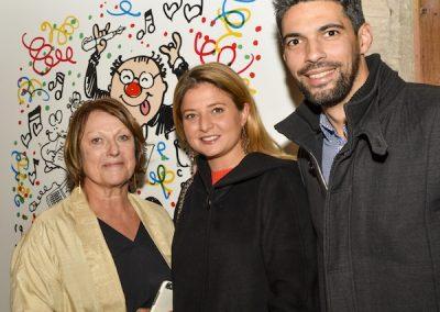 Sonia Dupuis, Rebecca Escalant et Guillaume Goupil
