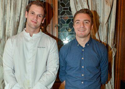 Justin Brohm et Guillaume Dupetit