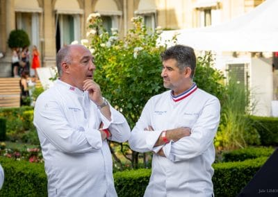 Arnaud Delmontel et Emmanuel Ryon