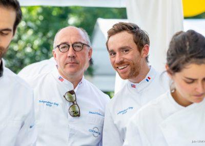 Arnaud Delmontel et Nicolas Paciello