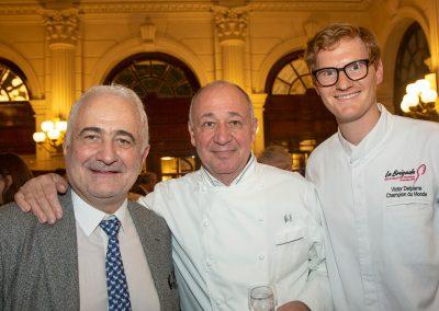 Guy Savoy, Marc Haeberlin et Victor Delpierre