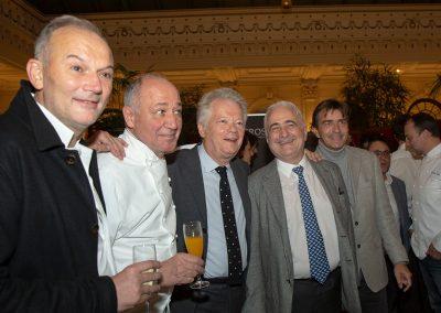 Christian Le Squer, Marc Haeberlin, Gilles Pudlowski, Guy Savoy et Yannick Alléno