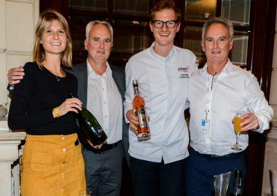 Victor Delpierre en partenariat avec le Champagne Ayala
