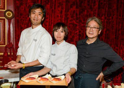 Yoshihiro Suzuki, Harumi et Ino, équipe Kura (16e)