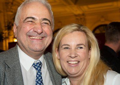 Hélène Darroze et Guy Savoy