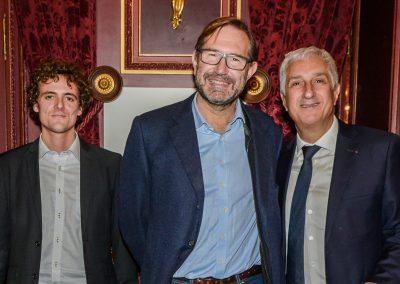 Equipe du Delas et Stéphane Layani, Président du Marché International de Rungis