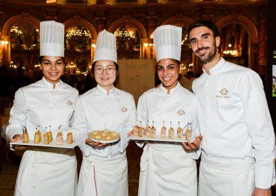 L'équipe du Restaurant Le Meurice par Alain Ducasse (1e)