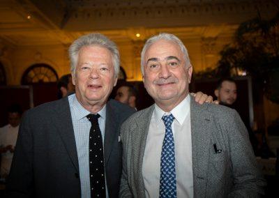 Gilles Pudlowski et Guy Savoy