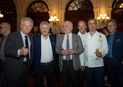Gilles Pudlowski, Albert Nahmias, Guy Savoy, Christian Le Squer, Antoine Daccache et Alain Angenost