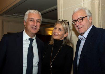 Stéphane Layani, Ysabelle Levasseur et Alain Ducasse