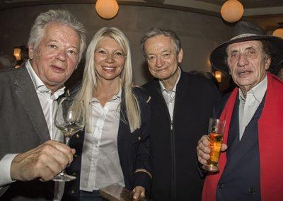Gilles Pudlowski - Nadine Rodd - Jean-Luc Petitrenaud - Alain Coquard