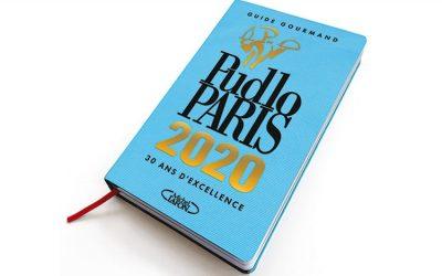 Palmarès de l'année du Guide Gourmand PUDLO PARIS 2020