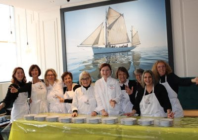 Nolwenn Corre et les Bénévoles des Bouffons de la Cuisine Brest 2019