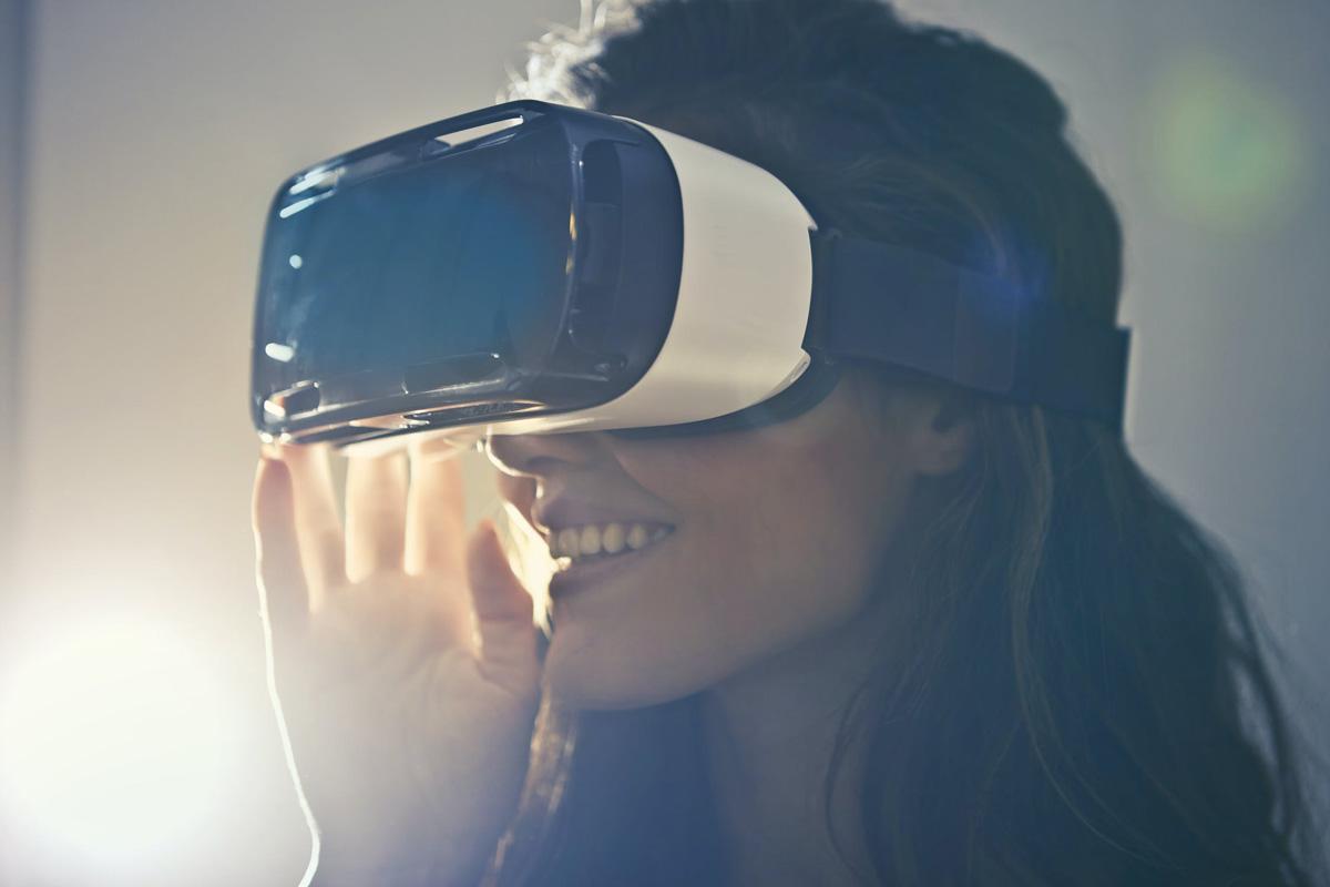 un casque virtuel lors d'un événementiel